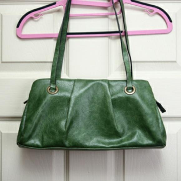 Barneys New York Handbags - Vintage Green Barneys Hand Bag